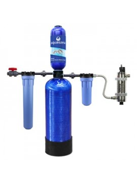 WELL WATER FILTER SYSTEM  6 YEARS - 2,250,000 LITERS (WITH UV LAMP)